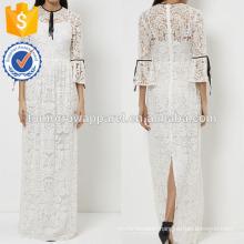 New Fashion White Lace Evening Gown Dress Manufacture Wholesale Fashion Women Apparel (TA5251D)
