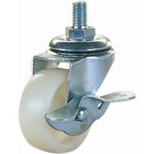 Light Duty Nylon Furniture Caster Wheel (White)
