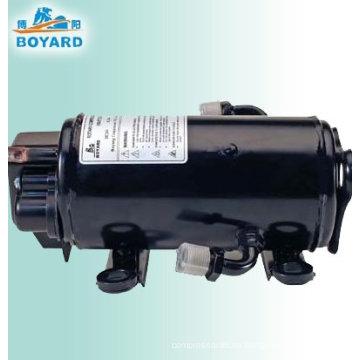 compresor eléctrico automotriz de 12 voltios de aire acondicionado de locomotora de vehículo camión cabina