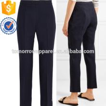 Pantalon en laine mélangée S lim-leg Fabrication en gros Vêtements Femme Fashion (TA3004P)