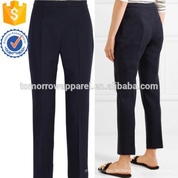 Wollmischung S lim-bein-Hosen Herstellung Großhandel Mode Frauen Bekleidung (TA3004P)