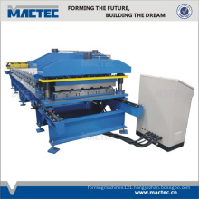 Roof tiles profiling machine