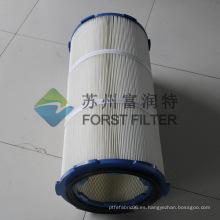 FORST Tres Bolts Cap Filter Filtro Cilíndrico de Cabina de Polvo
