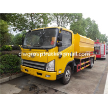 Dry and wet separation suction sewage truck