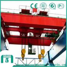 Pont roulant avec grande capacité de 500 tonnes à 550 tonnes