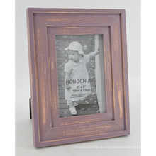 Antique Red Photo Frame für Desktop mit Aufhänger
