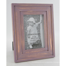 Antique Red Photo Frame para Desktop com cabide