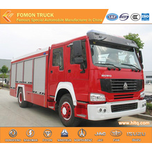 Sinotruk 4x2 8000L Water Fire-Extinguishing Truck