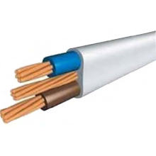 PVC Insulated Power Cable Flat Type Medium Voltage 300/500V 450/750V