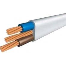 Изолированный PVC кабель питания Плоский тип Среднее напряжение 300 / 500V 450 / 750V