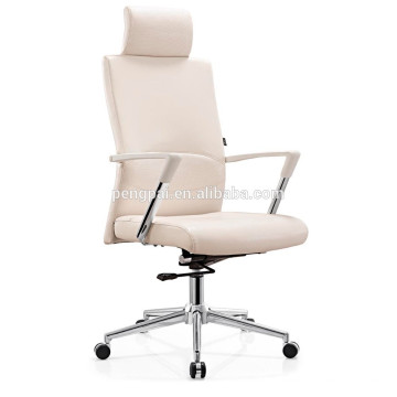 Hot sale shiny PU leather office chair w/executive office chair/visitor chair
