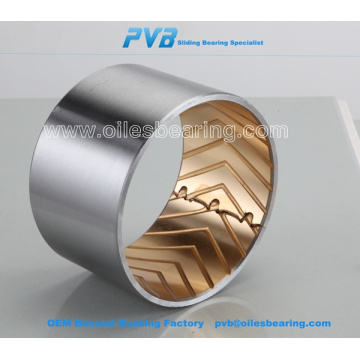 Torque Rod Bushing, bimetal bushes for AMW Truck, Bogie Bearing Bushing