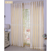 Pure Color Satin Bath Curtain for Bathroom Living room