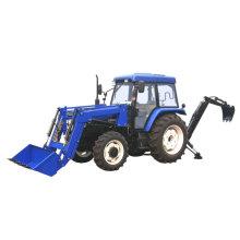 Mini-Traktor mit Gerät