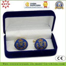 Высококачественная бархатная коробочка с надписью Custom Logo