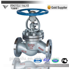 Stainless steel astm a216 wcb cast steel globe valve dimensions