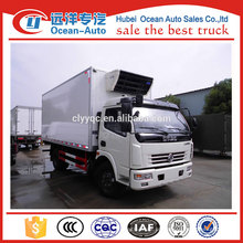 5ton dongfeng caminhão congelador, caminhão refrigerado para venda na china