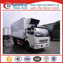 5ton dongfeng морозильная тележка, рефрижератор для продажи в Китае