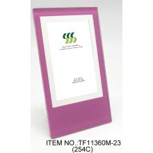Marcos de fotos de alta calidad pantalla de seda cristal