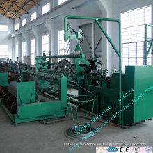 Máquina automática de la malla de alambre de la cerca del acoplamiento de cadena, maquinaria de la malla del diamante