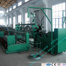Auto máquina da rede de arame da cerca do elo de corrente, maquinaria da malha do diamante