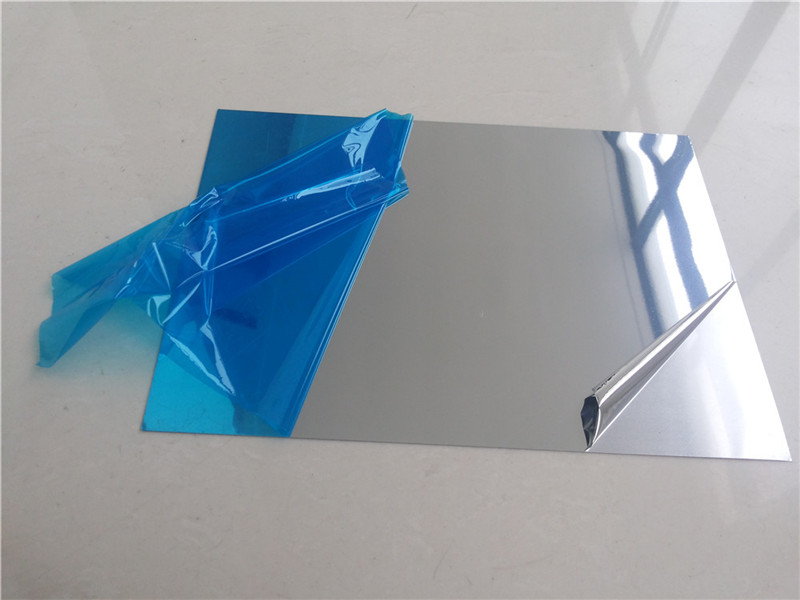 Mirrored Aluminum Sheet