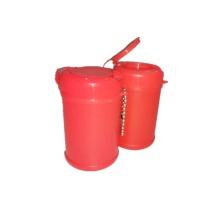 Пластиковая коробка мини-канистры для влажной салфетки
