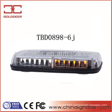 Low Profile Gen-3 Amber Warning LED Mini Lightbar (TBD0898-6j)