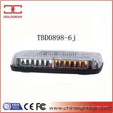 Perfil baixo Gen-3 Amber aviso Mini LED Lightbar (TBD0898-6j)