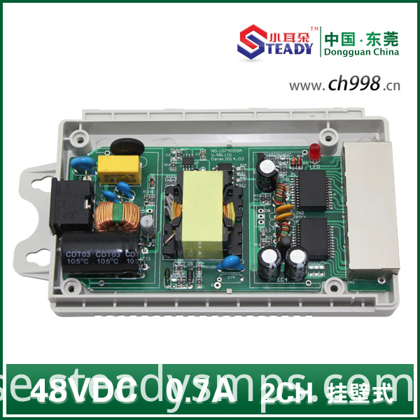 poe switch power supply