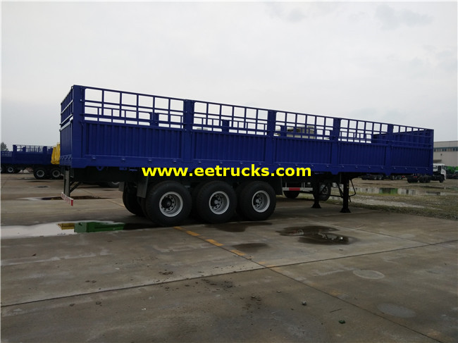 Bulk Box Van Semi Trailers