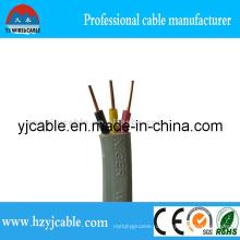 3 жил плоский кабель ПВХ-изоляцией кабель BVVB 3 * 1,5 мм2