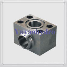 SAE Single Part Butt-Weld Flanges Elbow Block Adapter