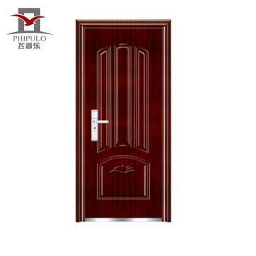 portas de metal anti-roubo porta de segurança exterior
