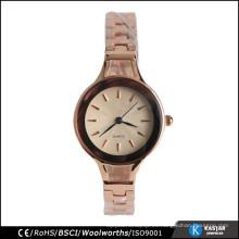 Relojes de pulsera de señoras de fantasía personalizado relojes China movimiento