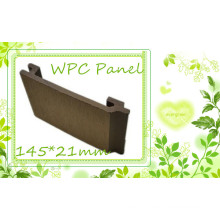 Eco Recycle Wood Composite Siding Sythenic Non-Slip WPC Wall Cladding