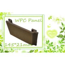 Eco recicla el revestimiento compuesto de madera de WPC de Sythenic del apartadero compuesto de madera