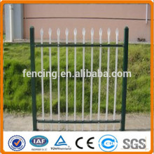 Steel Palisade Fences with D Section Pales