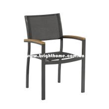 Chaise de design à l'extérieur de Textilene