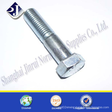 Ts16949 DIN933 Grade 8.8 Partial Thread Hex Bolt