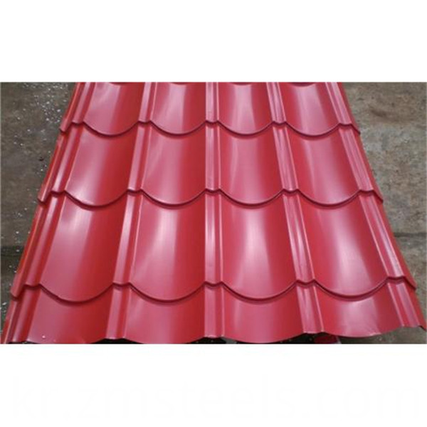 steel sheet metal roof