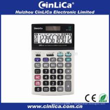 Calculateur de taxe scientifique électronique à double puissance de 12 chiffres double téléchargement DS-120LC