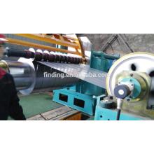 Bobinas de acero de hangzhou China bobina cruzada corte corte de línea de acero para máquina de corte automático de línea de hojas
