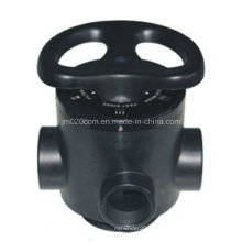 Válvula de filtro manual Multi-Port Runxin 51210 F56D