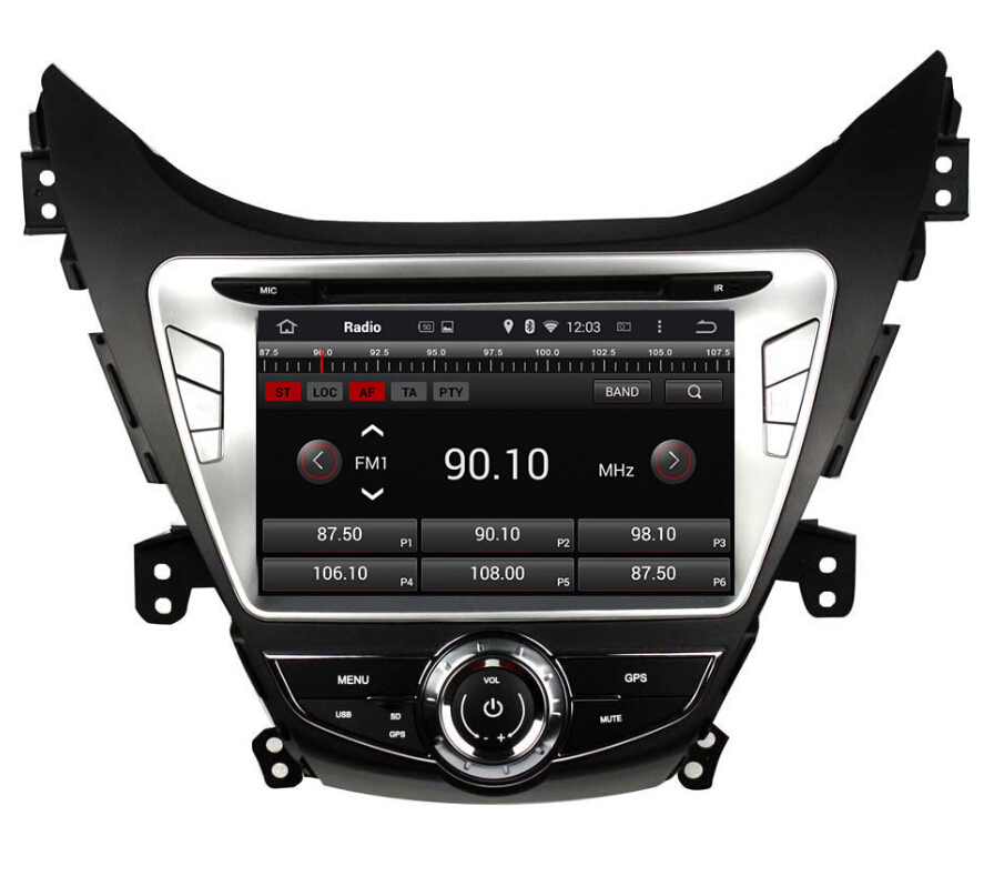 7.1 System Car dvd player for Hyundai Elantra