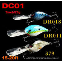 15-20FT 3inch 28g Floating Fishing Lure