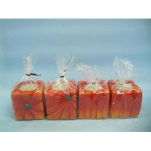 Kürbis Kerzenständer Form Keramik Handwerk (LOE2366-D5z)