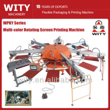 Automatic Textile Rotating Screen Printing Machine