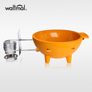 Waltmal Outdoor Hot Tub in Orange