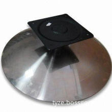 Sofa Chair Base with Mounting Plate and 350lbs Maximum Load, 60 to 70mm Outside Diameter of Base